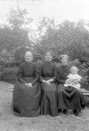 """Enligt fotografens journal nr 2 1909-1915: """"Andersson, Axel, Åker, Här""""."""