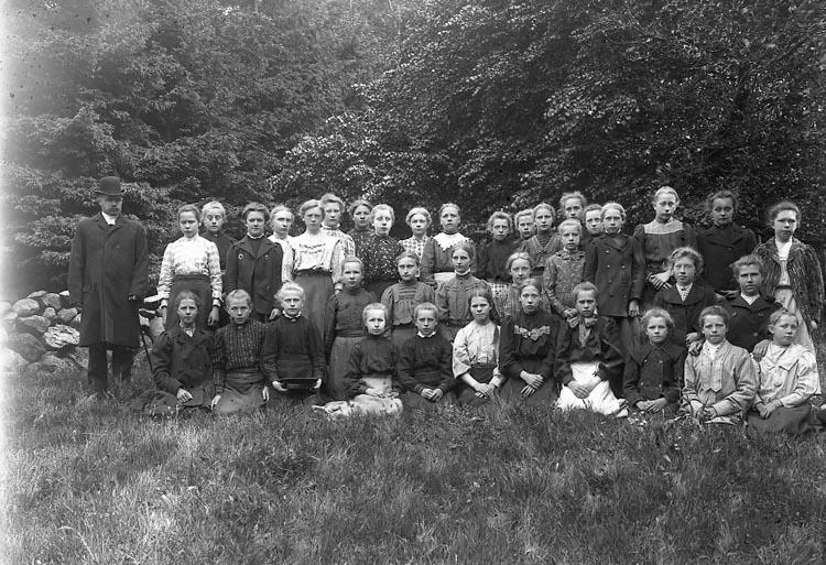 """Enligt fotografens notering: """"Pastor Lindman, Kålleröd Solberga 1912"""". ::"""