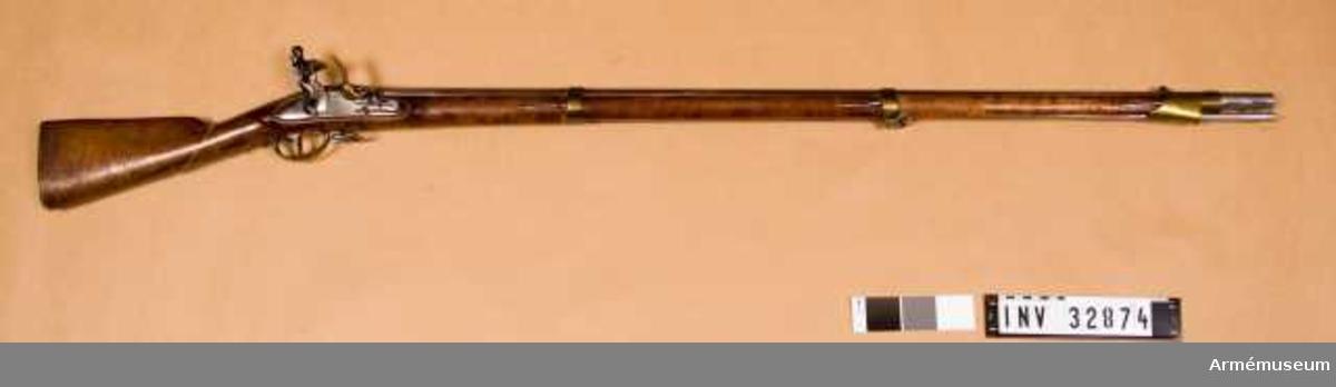 Grupp E II. Loppets rel. l:52,1 kal. 17,7 mm, 1814.