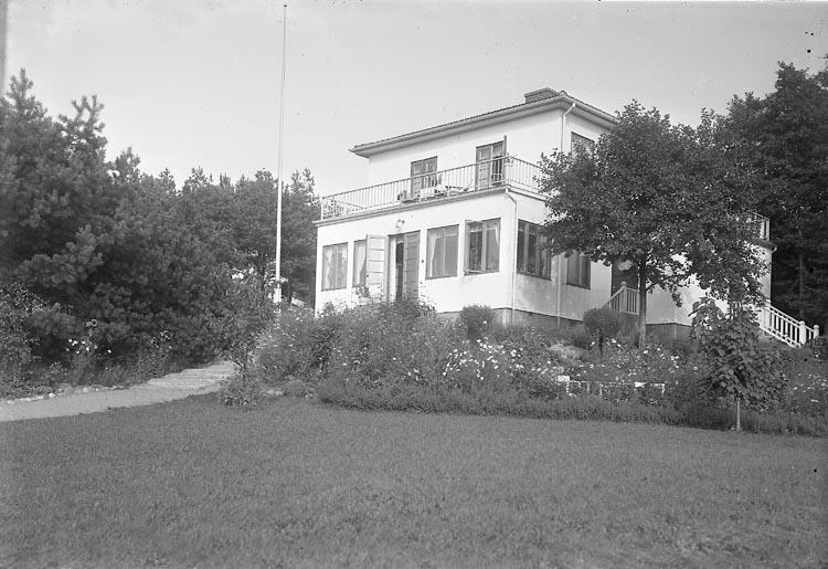 Häradshövding Ottossons villa i Stenungsund. September 1939.