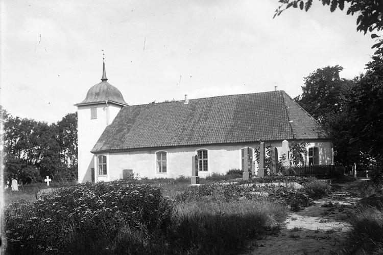 """Enligt fotografens notering: """"Jörlanda (gamla) kyrkan""""."""