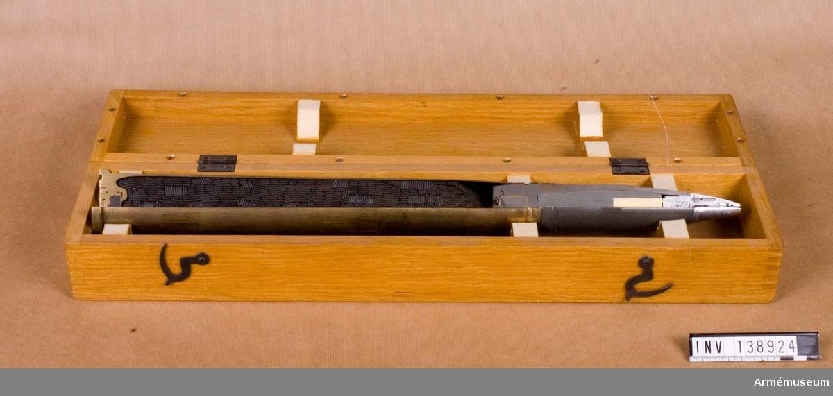 Fz 103. Il  Till 40 mm pjäs L/70. I låda.