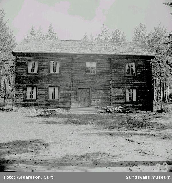 Timrat bostadshus, Borgsjö.