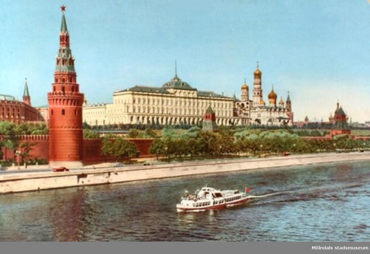 Kreml i Moskva.