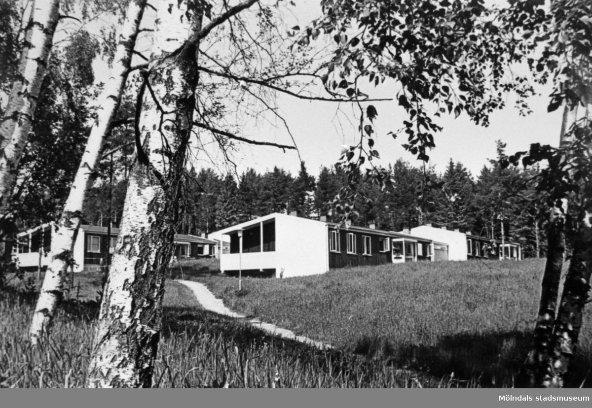 Elevbostaden Skogsgläntan på Stretereds skolhem, 1960-talet.