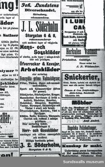 J L Söderholm