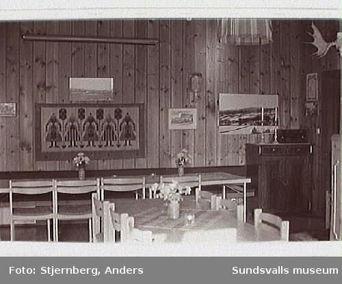 Allstugan, Bygdegårdsföreningens hus. F. d.småskola. Styrelsen i bygdegårdsföreningen, Mellangård 1993.
