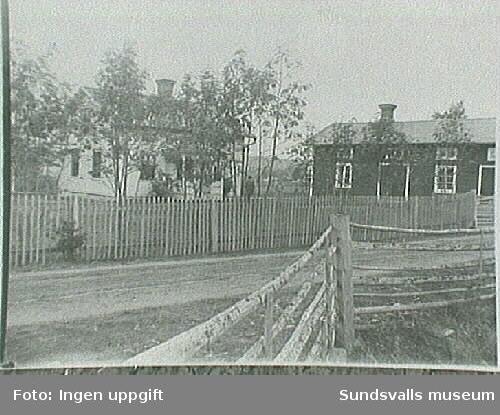 """""""Säter den 22/11 1908 God Jul och Gott Nytt Årtillönskas av Kerstin och J E Jansson.Fotografier inlånade från Selångers Hembygds-förening."""