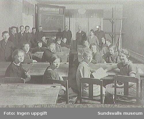 Sundsvalls stads Lärlings- och Yrkesskola, under detta namn mellan 1919-1942.