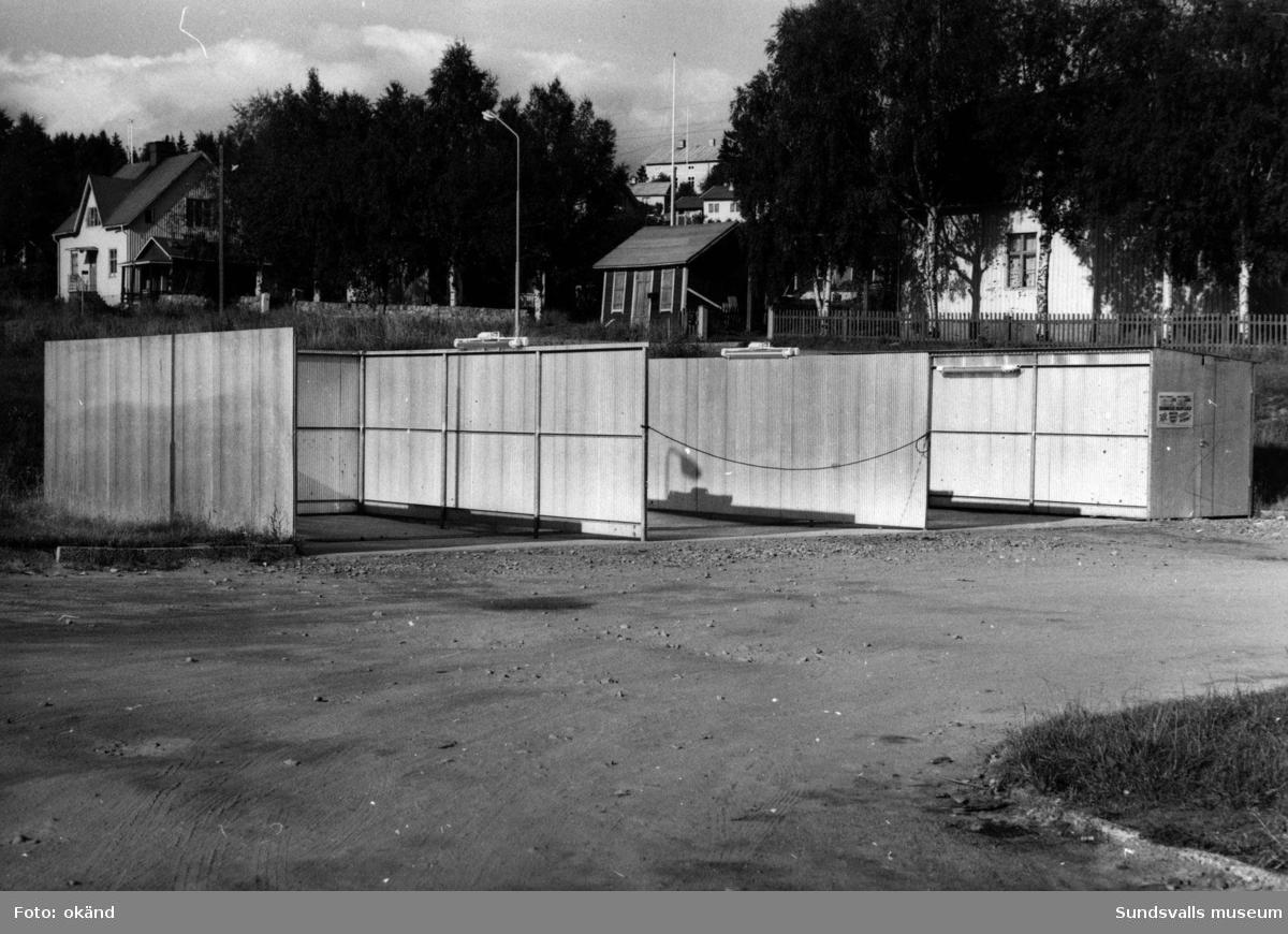 BP-stationen Alnö, Alnöbron.