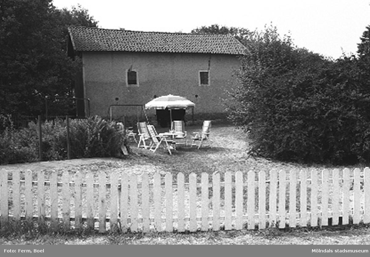 Bränneribyggnad. Lunnagården i Balltorp 1992-06-30.