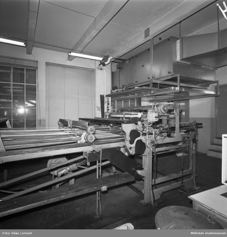 PM10, klipp nr 1 på Papyrus i Mölndal, 7/5 1965.