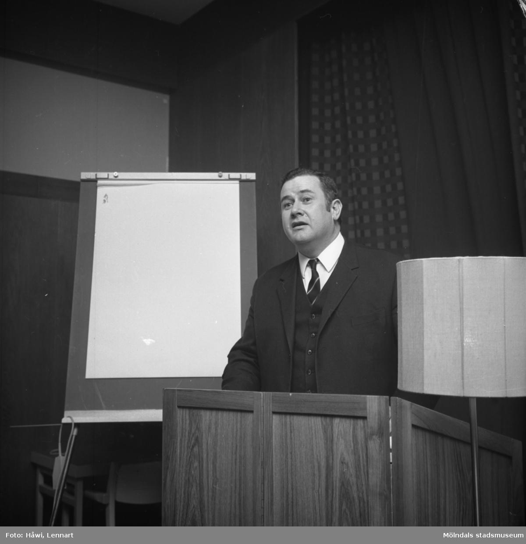 Konferens i anslutning till Scanpack 1970. Svenska Mässan i Göteborg, 16/10 1970.