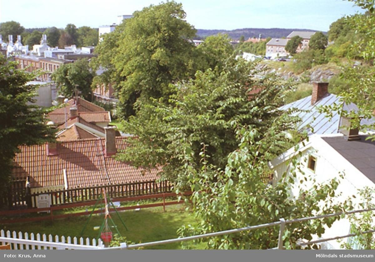 Hustak i Kvarnbyn.