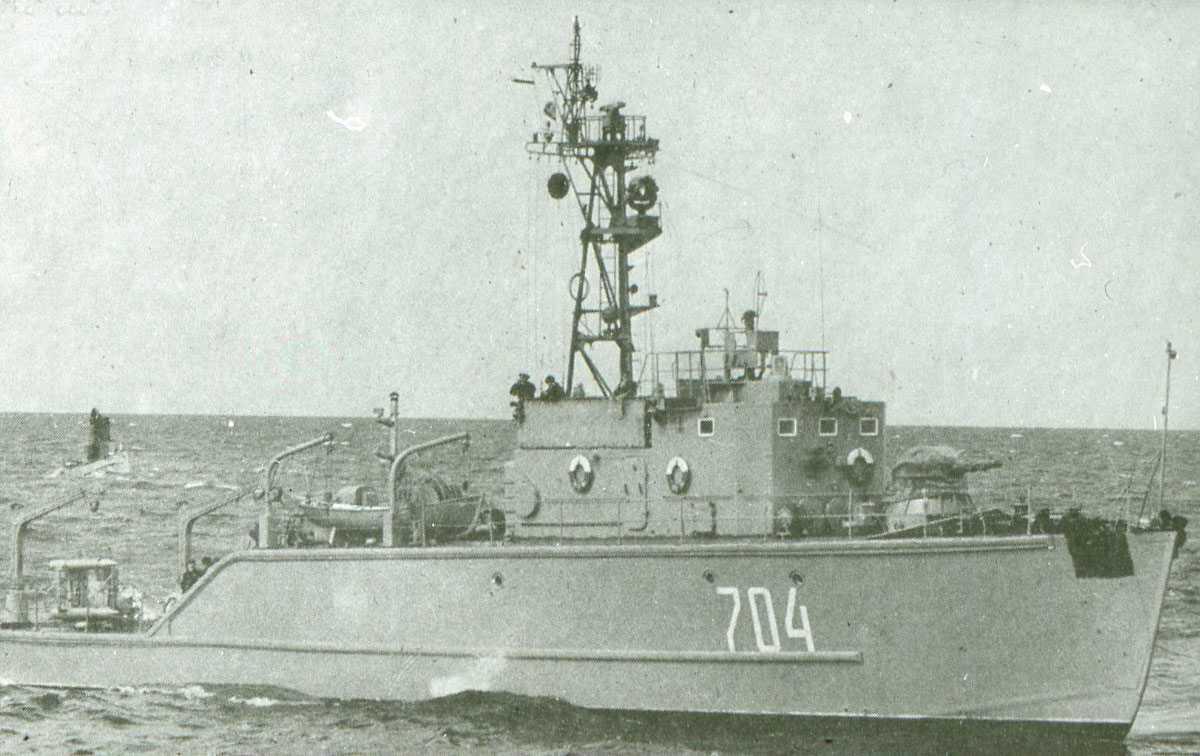 Russisk fartøy av Modifisert Vanya - klassen med nr. 704.