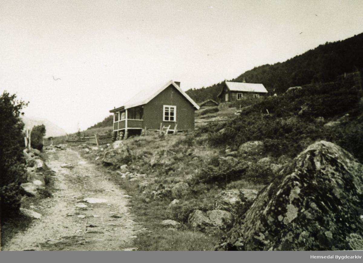 Utleigehytta, Torsbu,  som Olav O. Grøndalen bygde sist på 1920-talet.