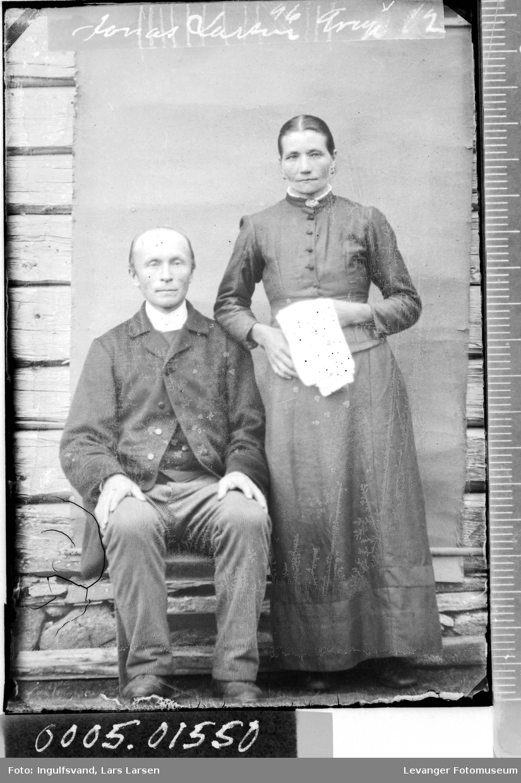 Portrett av en kvinne og en mann.