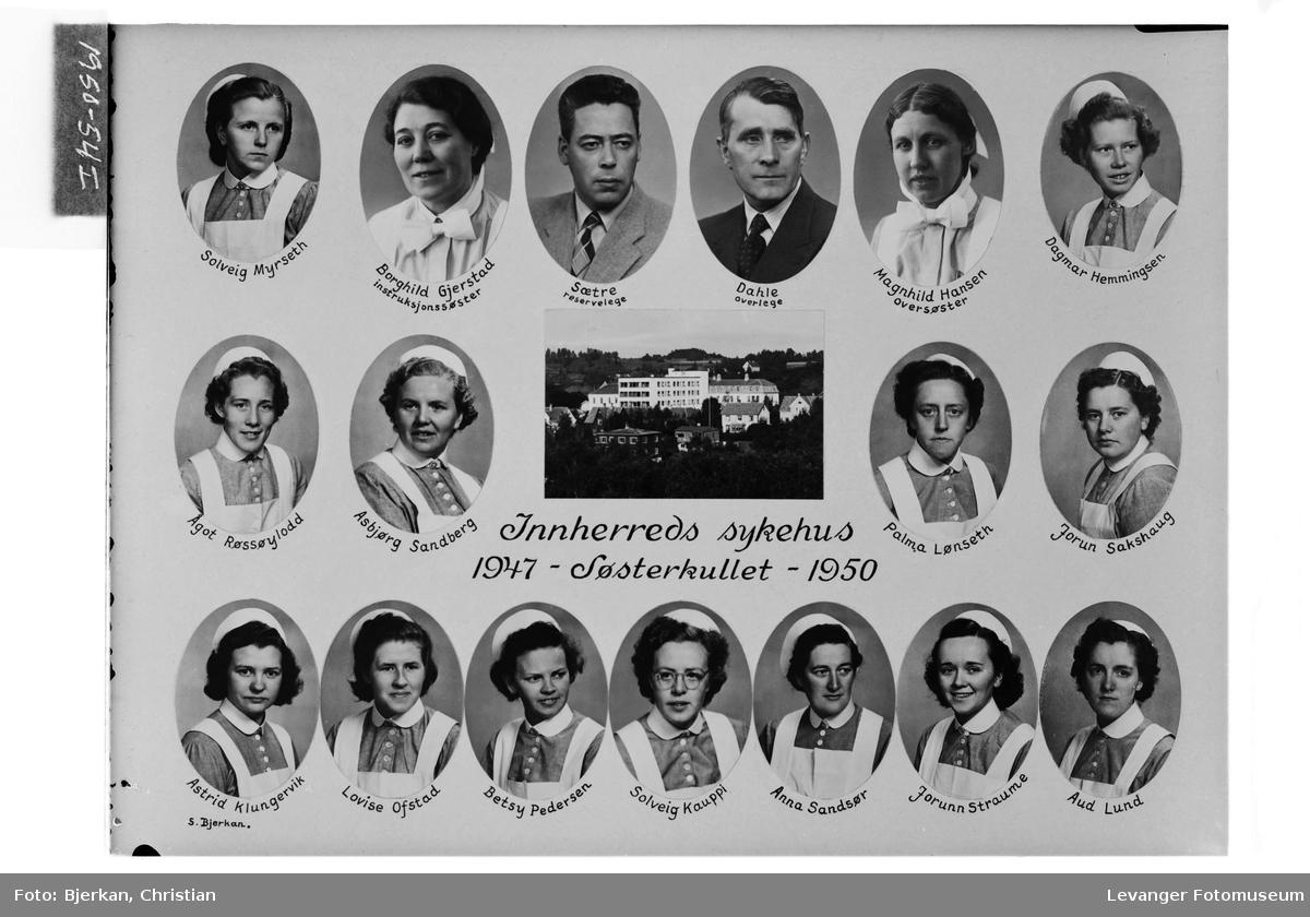 Søsterkullet på Innherred Sykehus, 1947-50