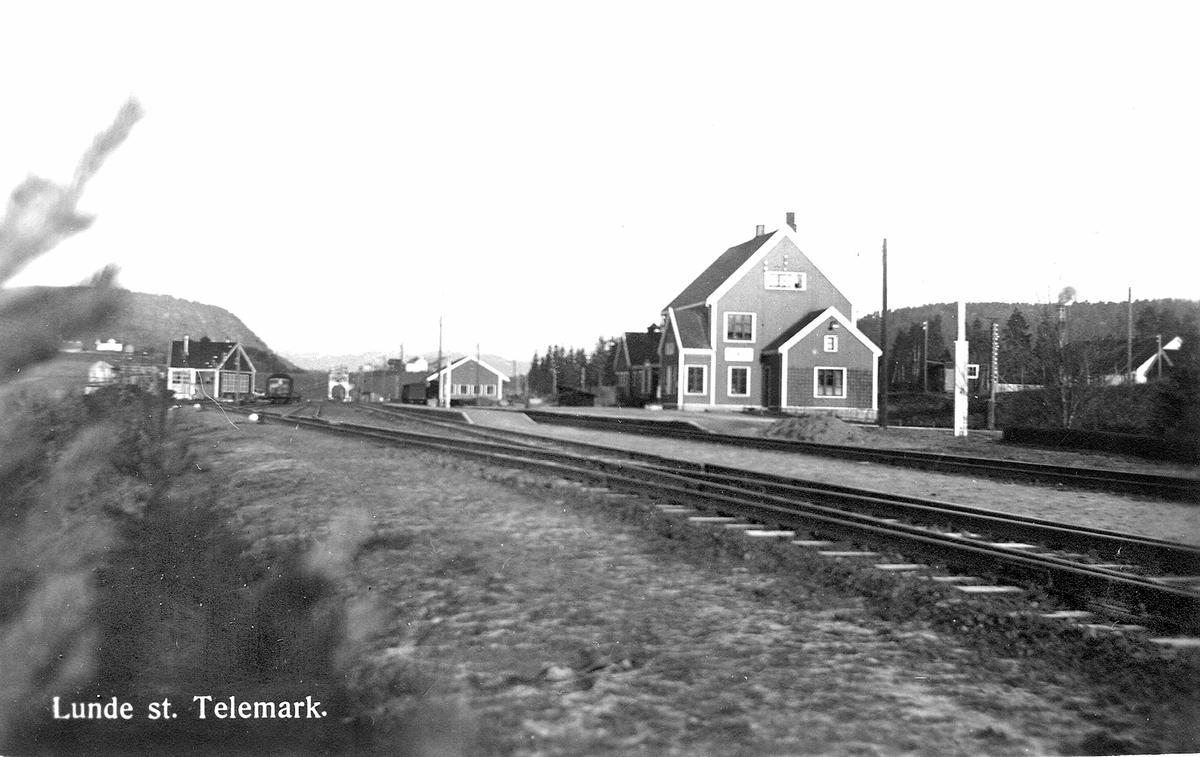 Lunde stasjon.