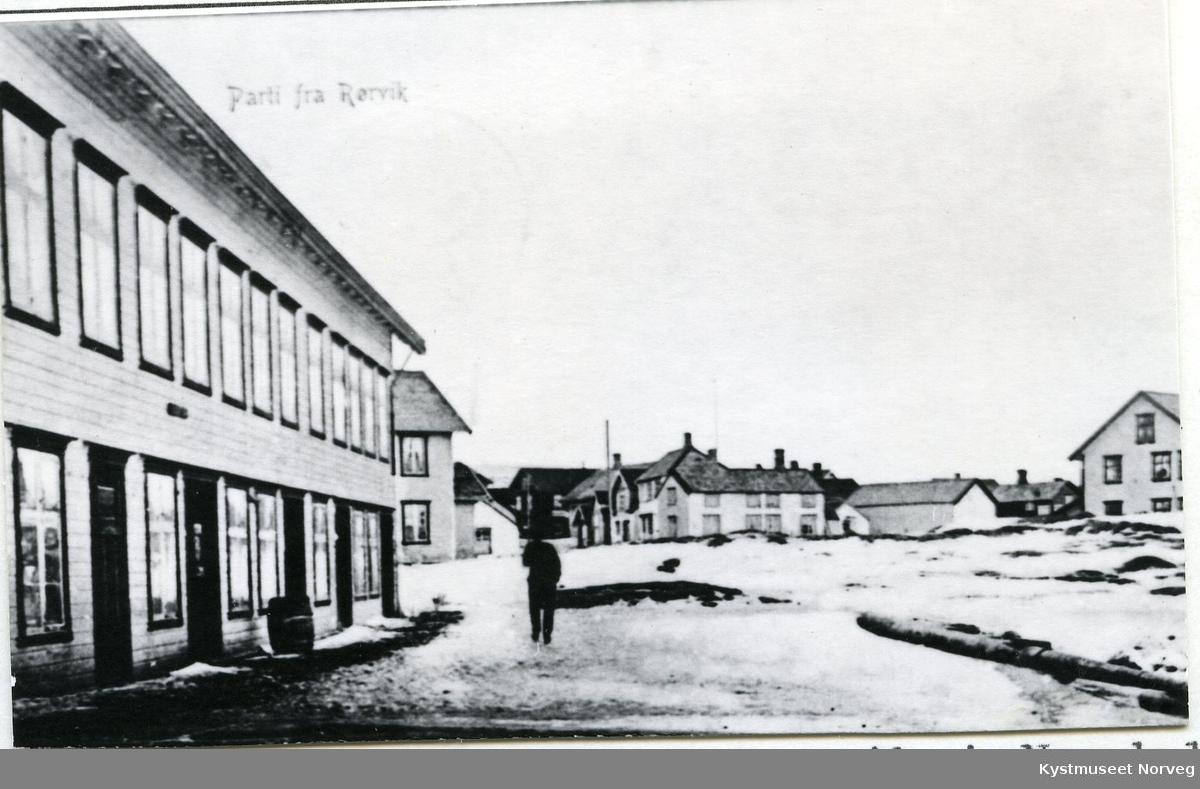 """Rørvik, """"Trudvang hotell"""""""