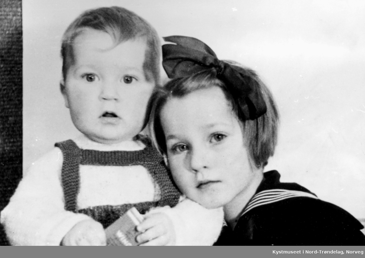 Barna til Gerd Haugland fra Namsos