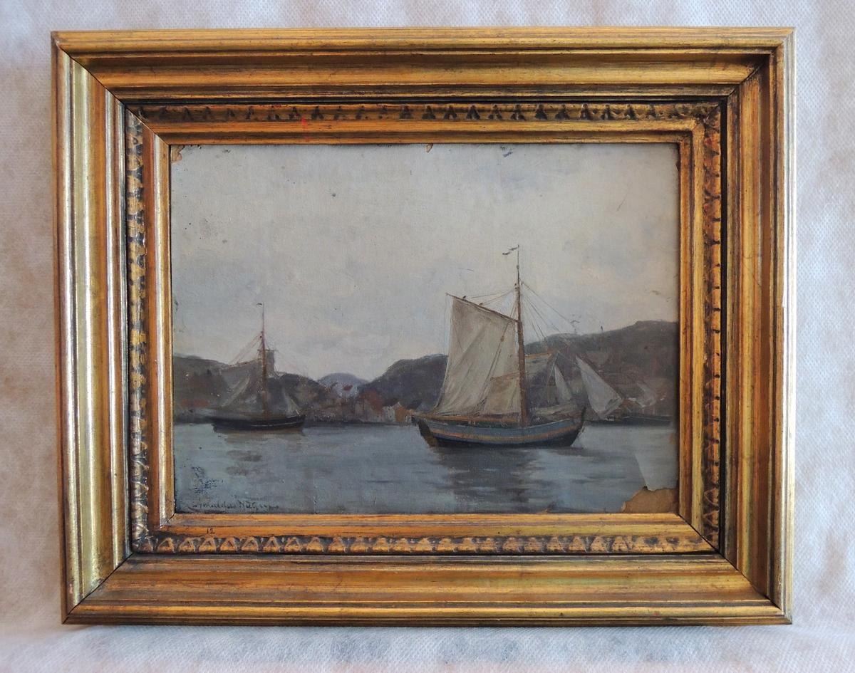 Skjærgård med båter