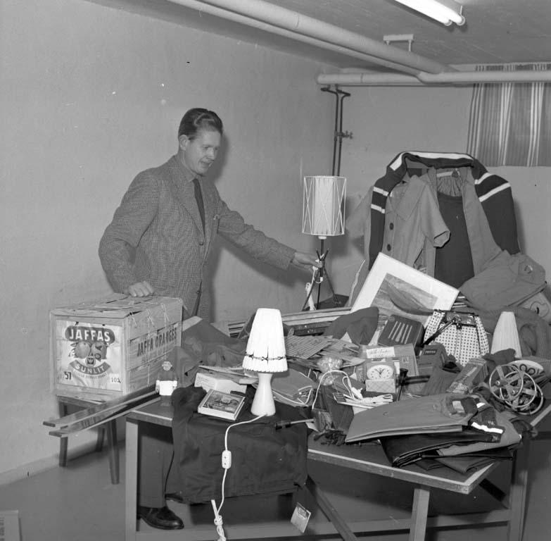 """Enligt notering: """"Skidfrämjandets prissamling 20/2 1960""""."""