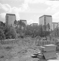 Unnerödskolan byggs 1961