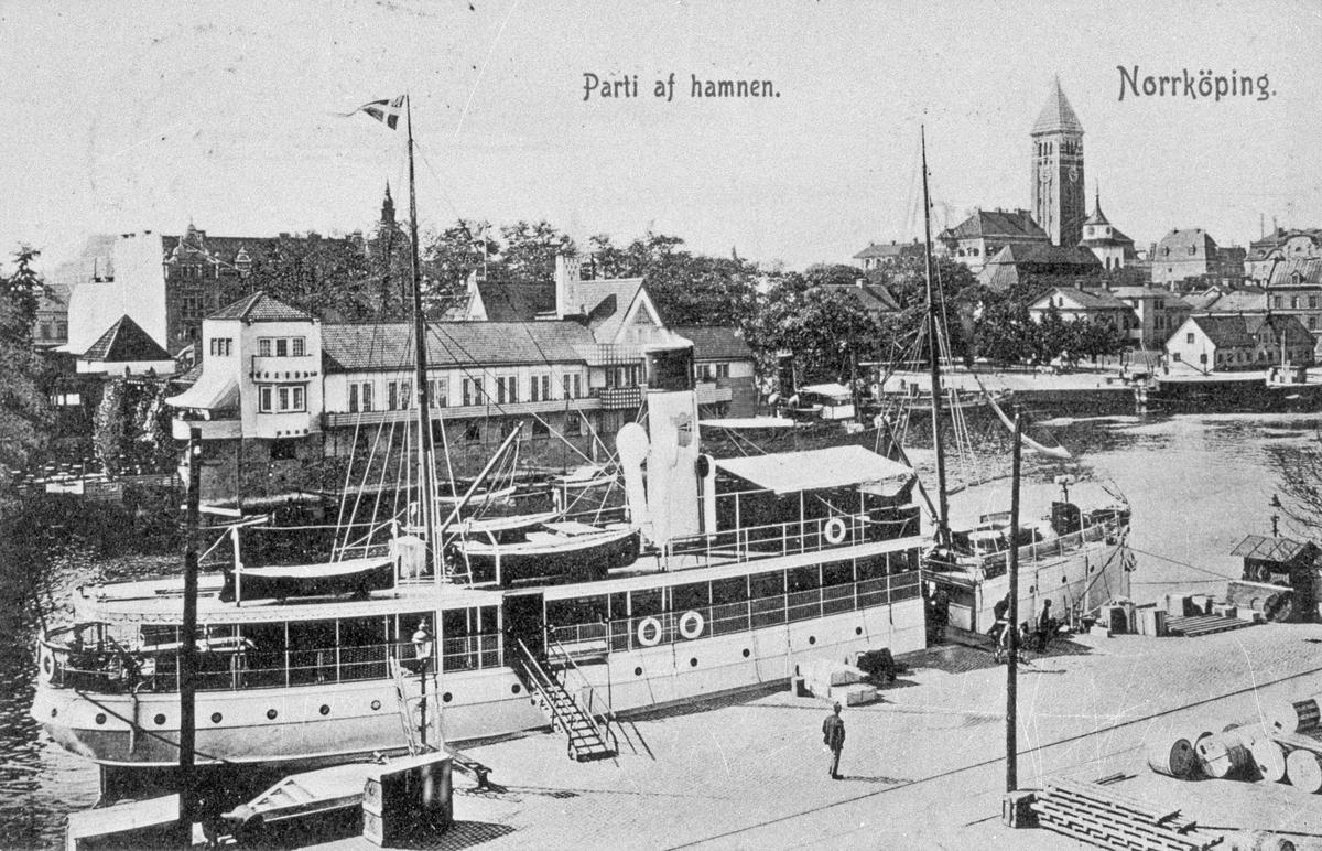 Parti af Hamnen. Norrköping.