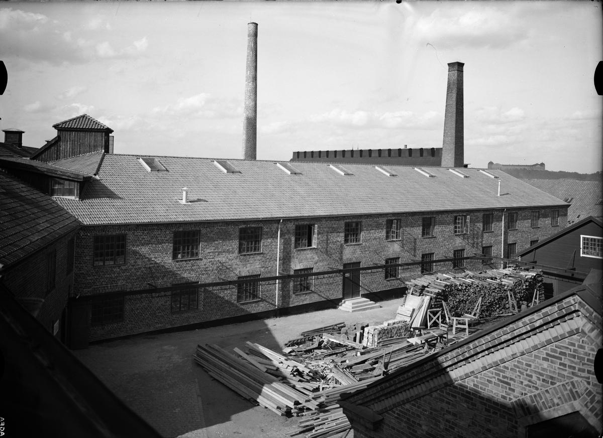 Industribyggnad vid Upsala-Ekeby AB, Ekeby bruk, Uppsala 1935