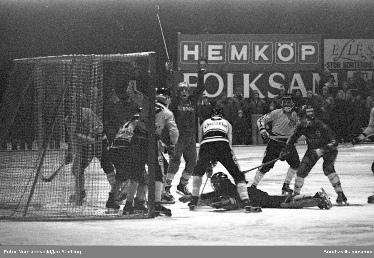 Bandyslutspel, Selånger-Örebro 3-1.