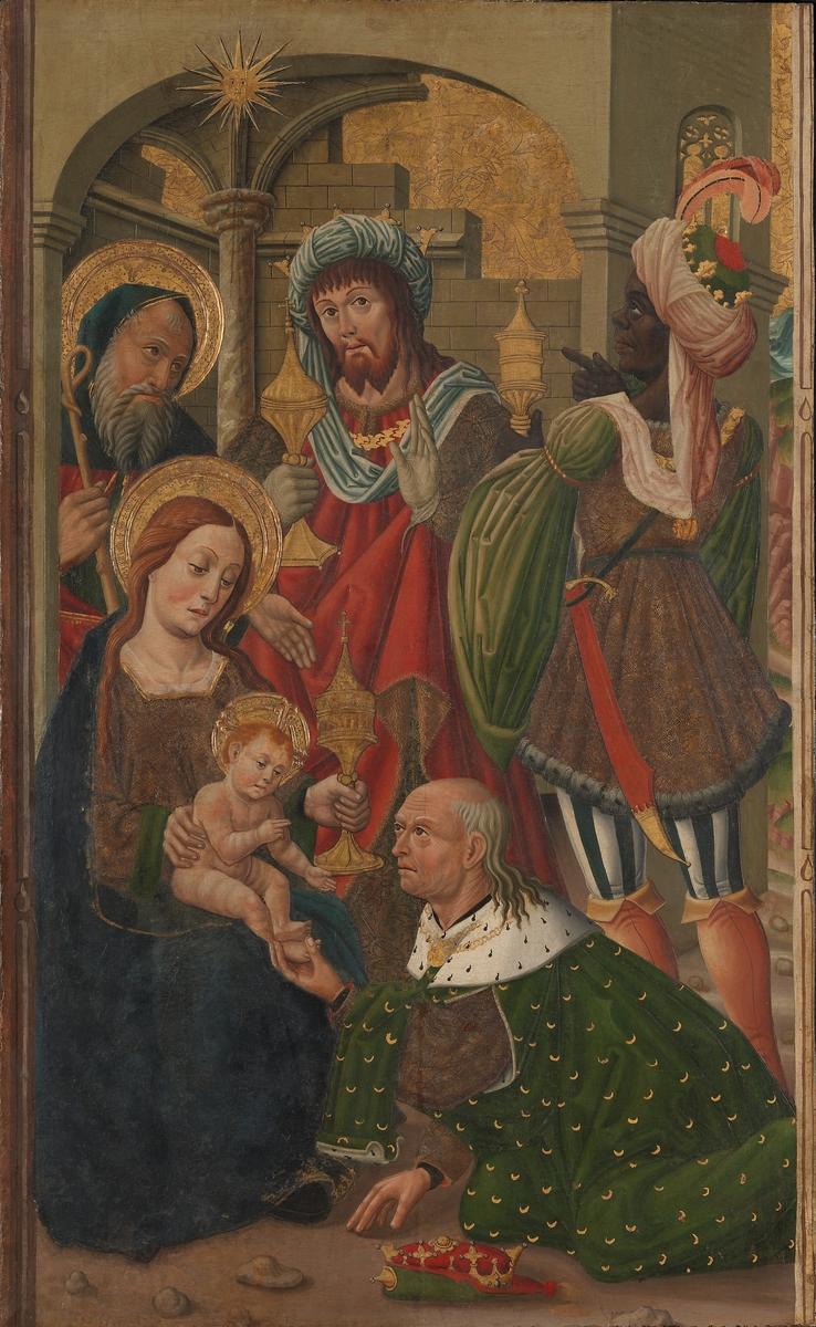 Kongenes tilbedelse [Maleri]