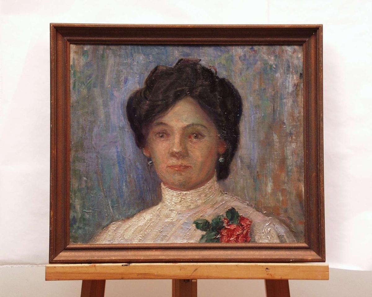 Portrett av en dame