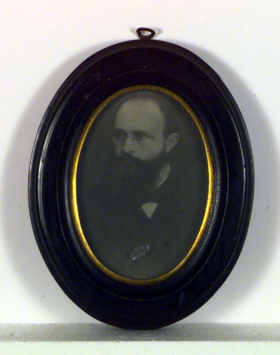 Portrett av Sigrid Undsets far, Ingvald Undset.