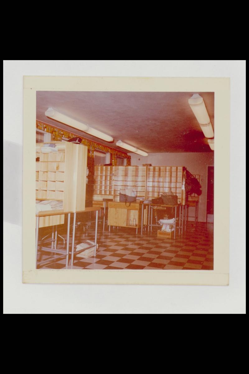 interiør, postkontor, 1101 Lambertseter, sortering