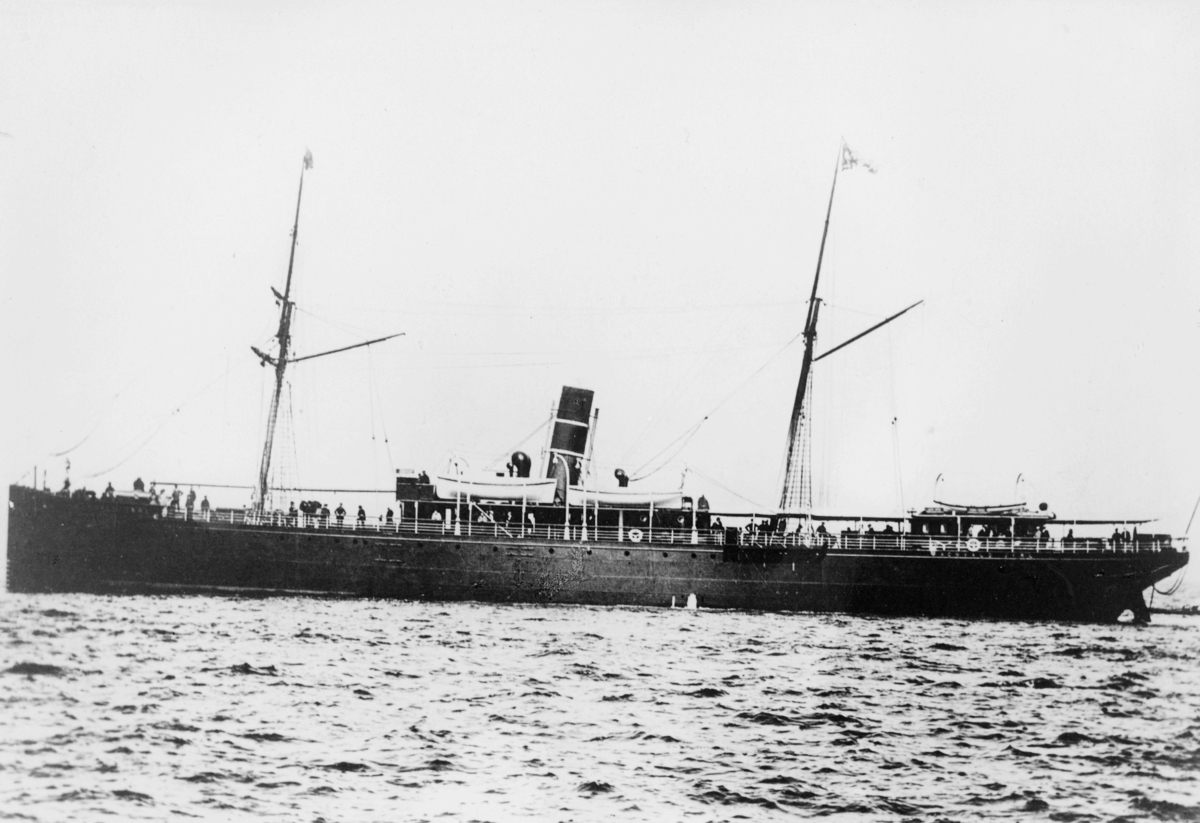 transport båt, eksteriør, D.s Ragnvald Jarl N.F.D.S.