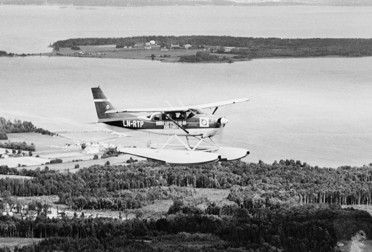 transport, fly, i lufta, sjøfly, LN-RTP