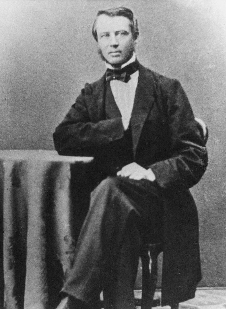 portrett, byråsjef, Wilhelm Michael Michelet