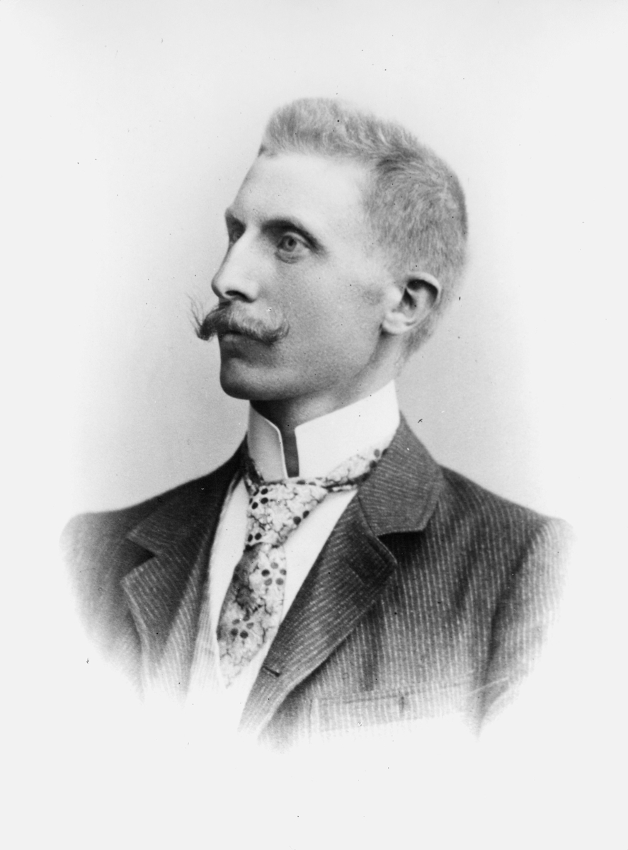 portrett, postmester, Harald Schmidt