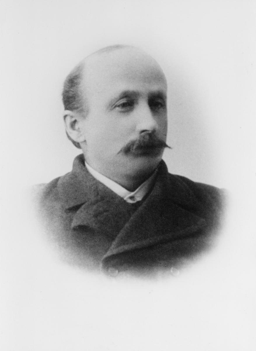 postmester, Tønder Peter Mathias, portrett