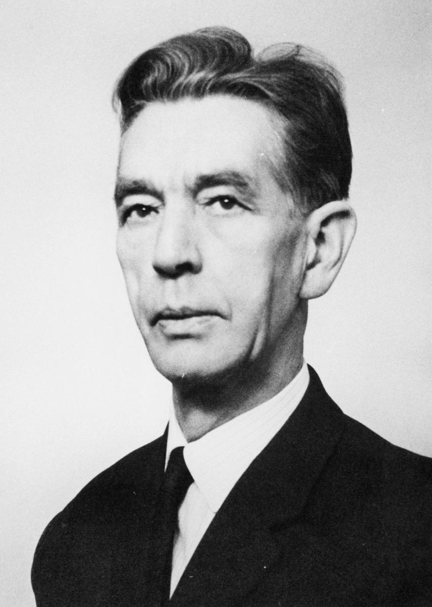 postmester, Folger Trygve, portrett