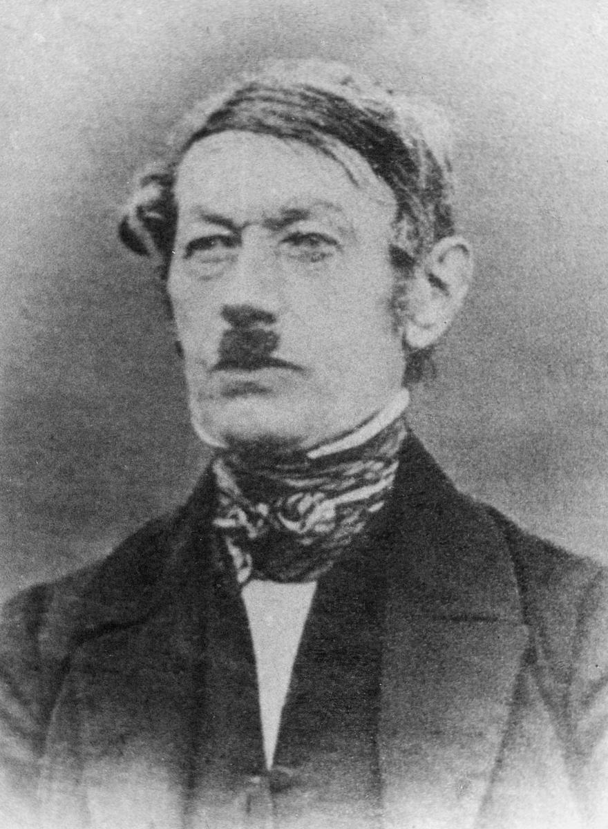 postmester, Bøckmann Peter Daniel, portrett