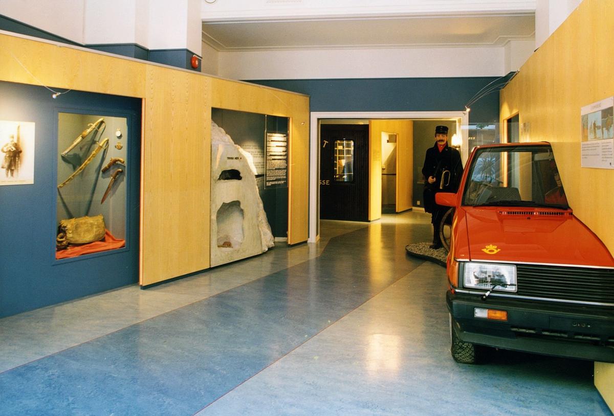 Postmuseet, Oslo, utstilling, postbil