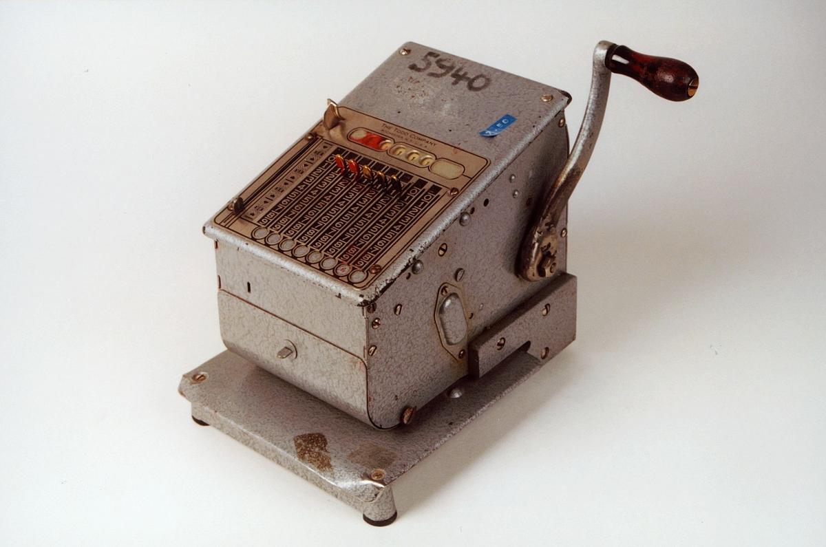Postmuseet, gjenstander, sikringsmaskin, Todd 245 NR5940.