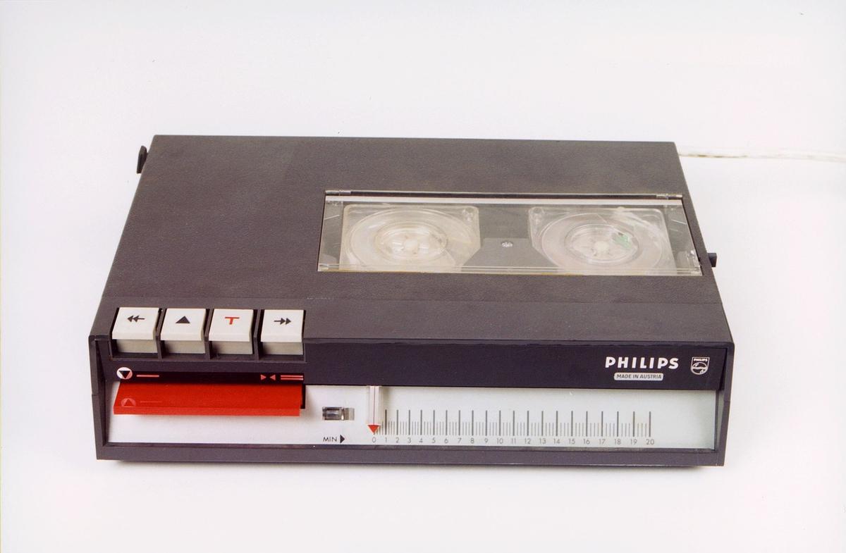 postmuseet, gjenstander, dikteringsmaskin, Philips 84