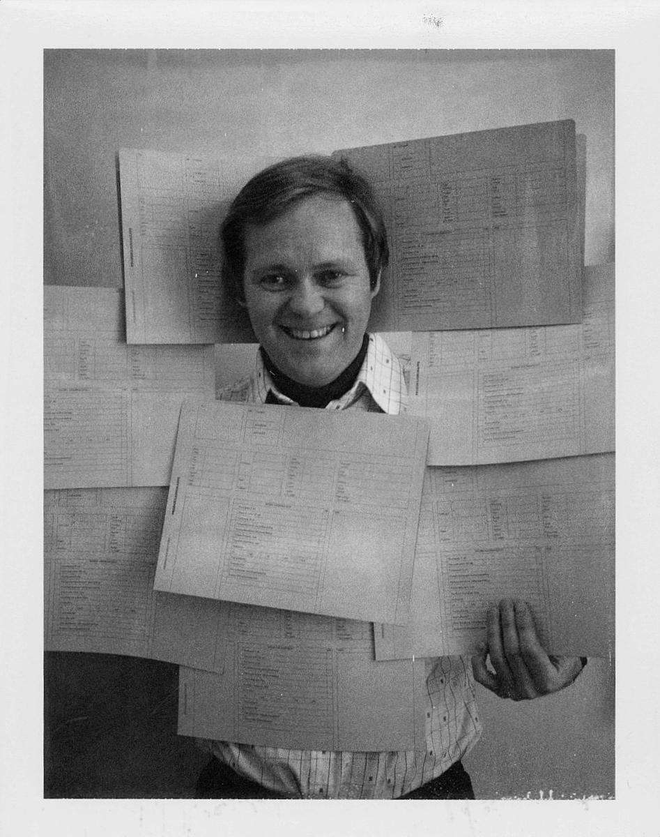 marked,  Arne Woll, interiør, reklame