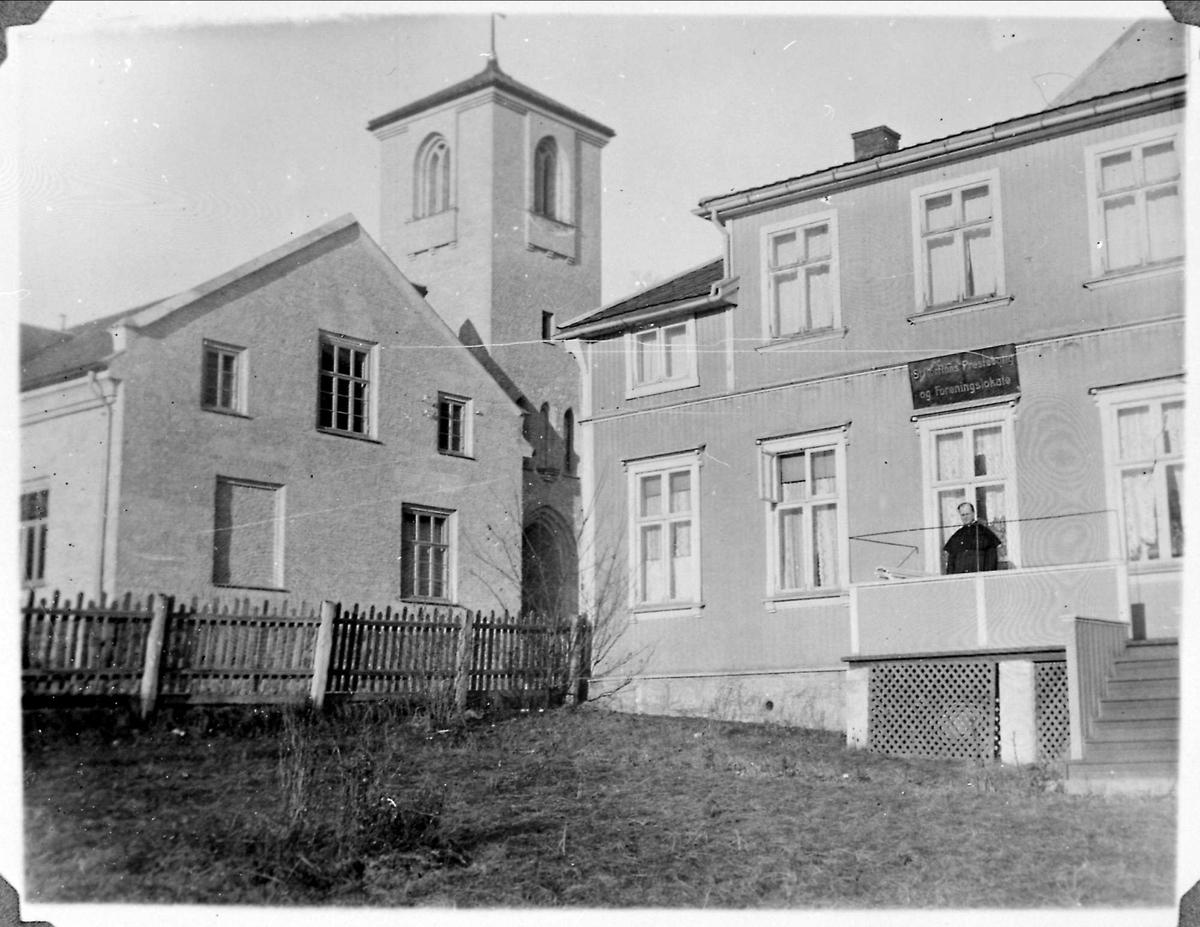 Oslo, St.Torfinn, prestebolig, foreningskontor