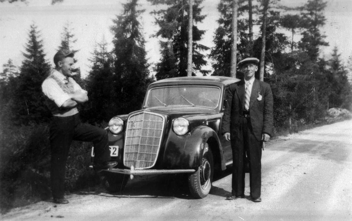 Åmlibilder samlet av Åmli historielag Opel Olympia