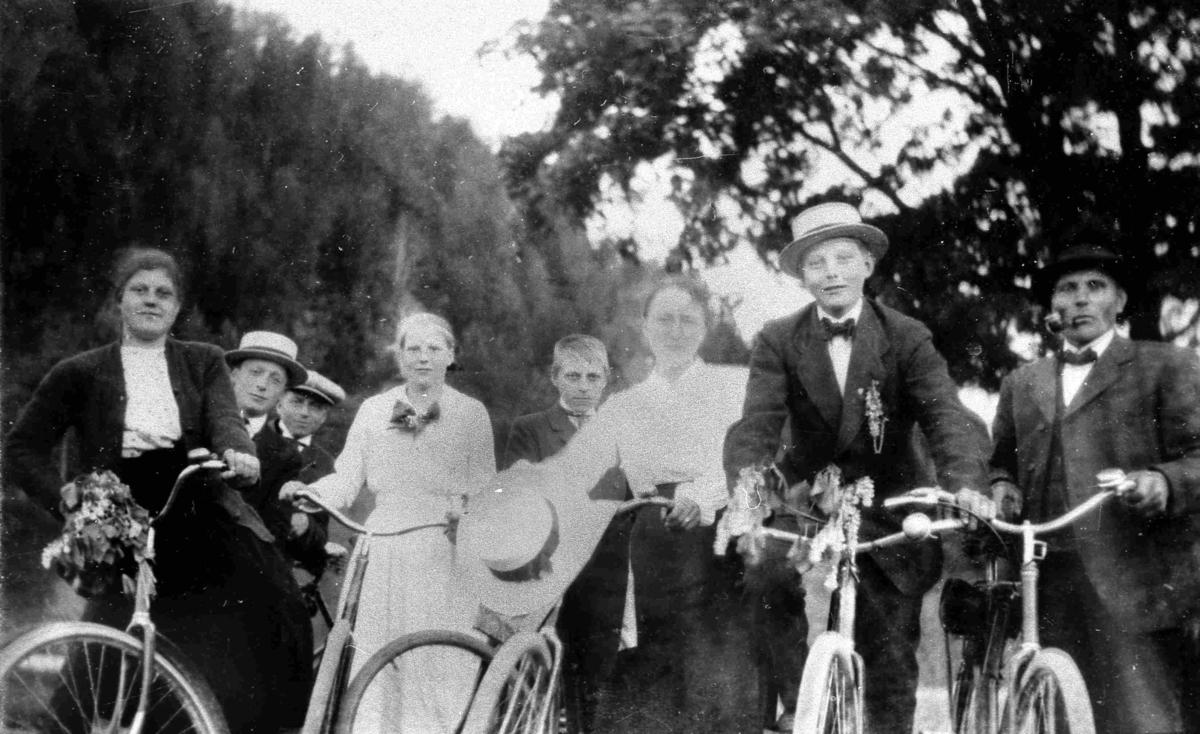 Bilder fra Birkenes kommune Birkenesfolk på sykkeltur