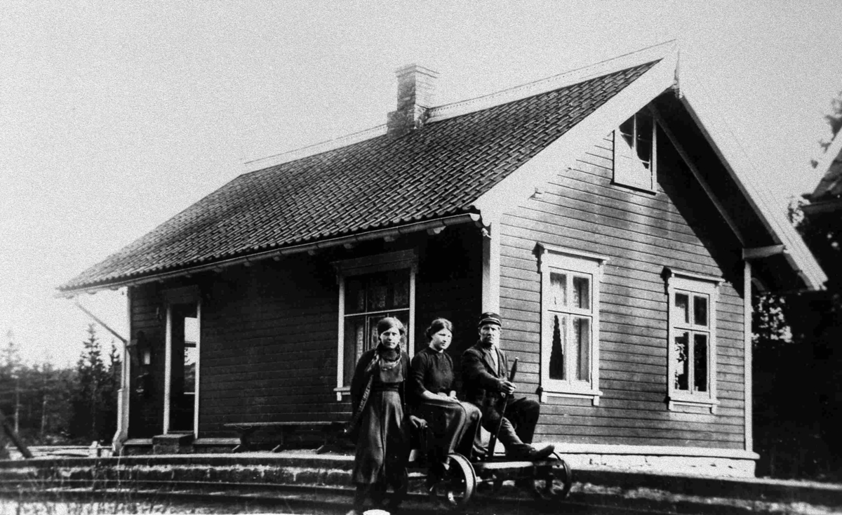 Bilder fra Birkenes kommune Tveide jernbanestasjon